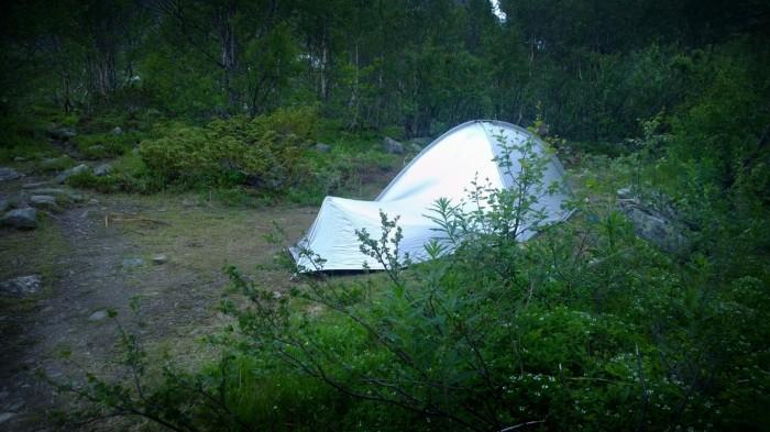 Og dette teltet vinner prisen for å være det styggeste noensinne!